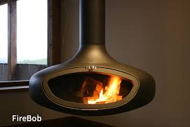 A Firemaker suspended wood burning stove or hanging fire creates real  impact in any room.