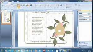 how to create a flyer in ms word mp