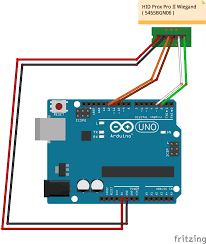 connecting a hid prox pro ii rfid reader to arduino obviate io wiring diagram