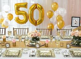 decorations for 50th wedding anniversary 50th anniversary table decoration ideas biddle