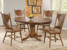 Round Wooden Kitchen Table Magnificent Round Wood Kitchen Tables Dining Table And Chairs The