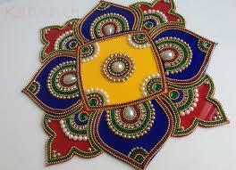 Kundan Rangoli Designs Small Indian Bollywood Rangoli Colorful Rangoli Kundan Rangoli