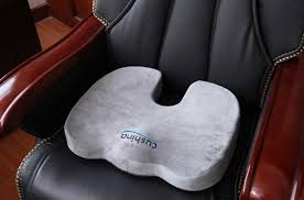 premium orthopedic coccyx seat cushion for office chair