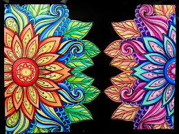 Small Picture From Kaleidoscope Wonders Color Art for Everyone Colored Pages