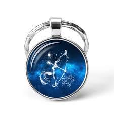Krásný Přívěsek Na Klíče Horoskop Znamení Střelecsagittarius