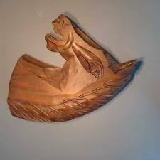 pegasus winged horse painted wood