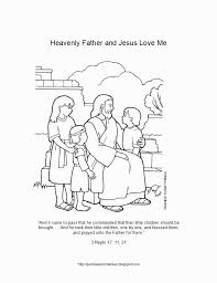 Great resource that visualizes the bible story. Jesus And Children Coloring Pages Coloring Home