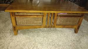 solid wood coffee table inchture