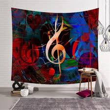 creative wall art hippie tapestries wall hanging fashion notes printing rectangle decorative tapestry w3 new ls yx001 11 hippie wall tapestry hippy