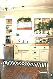 kitchen rug ideas navy