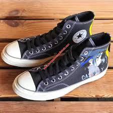 Converse <b>Shoes</b> Chuck 70 X <b>Naruto</b> Casualy <b>Canvas</b> High Top Black