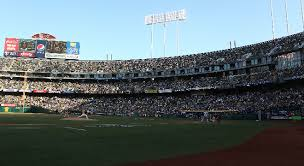Oakland Athletics Oakland Arena And Ringcentral Coliseum