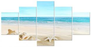 amazing beach scene canvas wall art see more pictures personalized for beach wall art