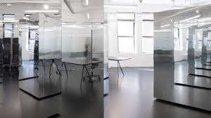 office space architecture. Only If Architecture Creates Mirrored New York Office Space That Rejects Coworking Tropes