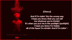 Marshmello x Lil Peep - Spotlight (Official Lyric) + Downloand - YouTube