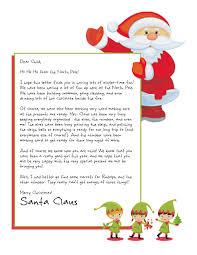 Santa Claus Printables Santas Letter Ohye Mcpgroup Co