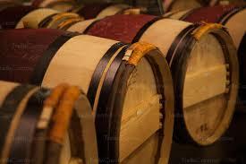 oak wine barrels. Fine Wine Traditional French Oak Wine Barrels In A Winery Cellar In Oak Wine Barrels