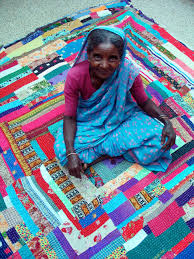MCM Exhibit Showcases African of India Patchwork Quilts   Madison ... & Siddi_womanonquilt_lores Adamdwight.com