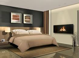 Electric Fireplace Master Bedroom
