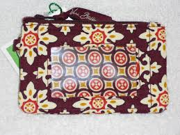 Vera Bradley Discontinued Patterns Extraordinary VERA BRADLEY ZIP ID 48 PATTERNS COIN WALLET CHOOSE Retired Patterns