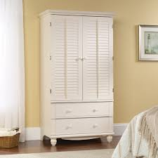 Armoire White Armoire With Drawers2