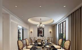 restaurant room chandelier and wall lamp design 3d house