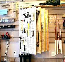 pegboard garage wall ideas residence for site 3