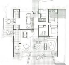 Case Study House   Floor Plan Floor plan of the main house     Living Room     Dining Room
