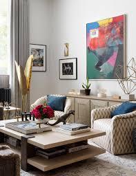 to decorate empty living room corners
