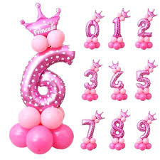 balloon decoration ideas for birthday party at home in india pink