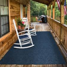 amazon house home and more indoor outdoor carpet with rubber marine backing blue 6 x 15 several carpet flooring for patio porch deck boat