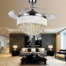 chandelier with ceiling fan attached modern fans chandeliers combo crystal cream ceiling fan chandelier