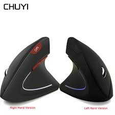 <b>CHUYI Wireless Vertical Mouse</b> Ergonomic Gaming Right/Left ...