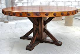 rustic dinner table round rustic dining table kitchen idea pertaining to 6 rustic wooden dining table
