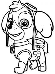 Paw Patrol Marshall Coloring Pages Childrens Fun Activities