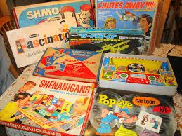 Vintage 1970's toys games