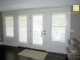 window treatments for doors with half glass front door coverings rod pocket curtain panel sliding photos