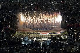 أولمبياد طوكيو في سماء العالم