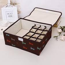 13 grid underwear bra organizer storage boxes dog pattern drawer closet organizers boxes for clothing underwear