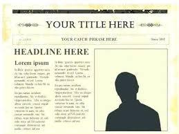 Newspaper Template Free Google Docs Editable Newspaper Template Ethercard Co