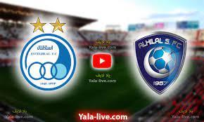 نتيجة مباراة الهلال واستقلال طهران اليوم دوري أبطال آسيا - الاستقلال ضد  الهلال - Yalla Live