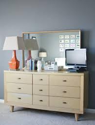 painted mid century furnitureA Modern MidCentury Makeover  Via Royal Design Studio  Dream