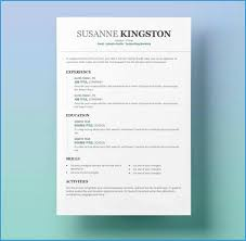 Two Column Resume Template Word Free Great 2 Column Resume Template