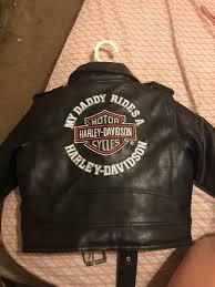 2t leather harley jacket