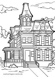 Kleurplaat Victorian Huis Gratis Kleurpaginas Om Te Downloaden