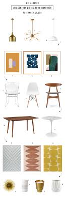 inexpensive mid century modern furniture. Here Is Super Easy Guide To Makeover Your Dining Room With Inexpensive Mid Century Modern Furniture Picks Best Of All You Can Mix And Match Inside