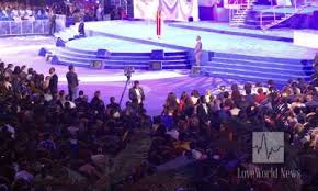 The church had been building its headquarters for some 25 years now and the national temple of the apostolic church on completion became one of the largest in nigeria. Family Members Kick As Son Sows Family House To Christ Embassy News Mail Nigeriafamily Members Kick As Son Sows Family House To Christ Embassy