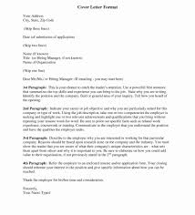 Cover Letter Formats Format For Resume By Email Best Example In