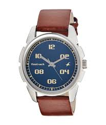 fastrack blue dial watch for men 3124sl02 buy fastrack blue dial fastrack blue dial watch for men 3124sl02