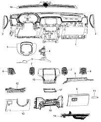 2014 dodge durango instrument panel diagram i2304977